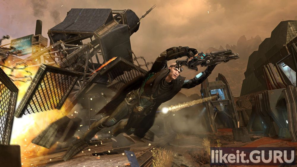 Red Faction: Armageddon game screen
