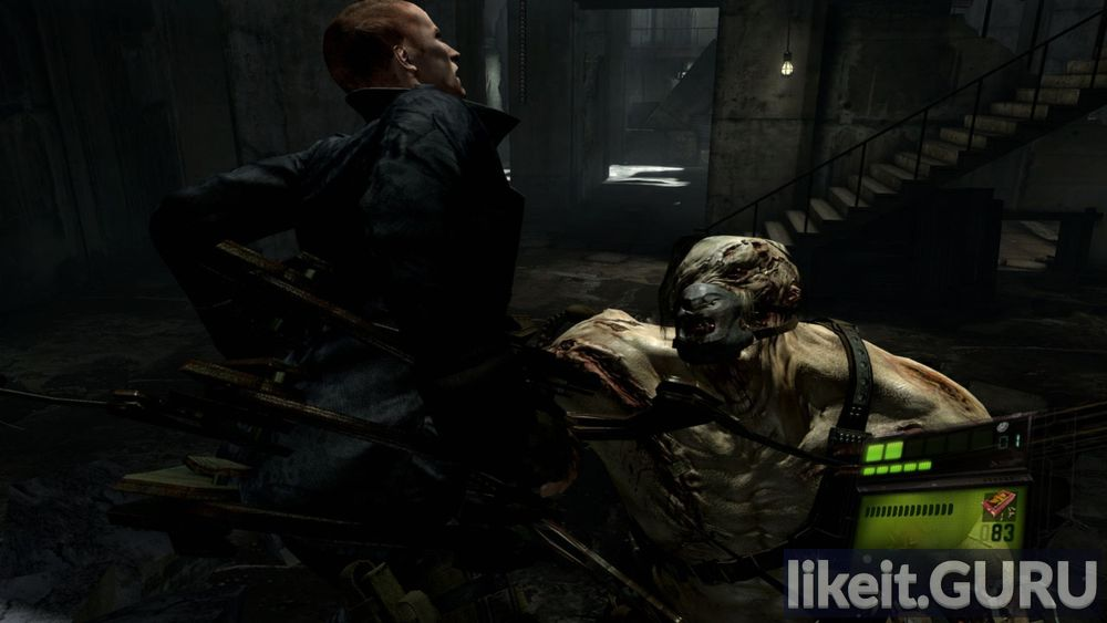 Resident Evil 6 game screen