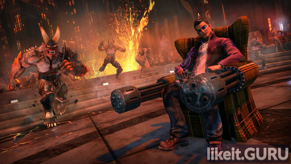 Saints Row: Gat out of Hell game screen