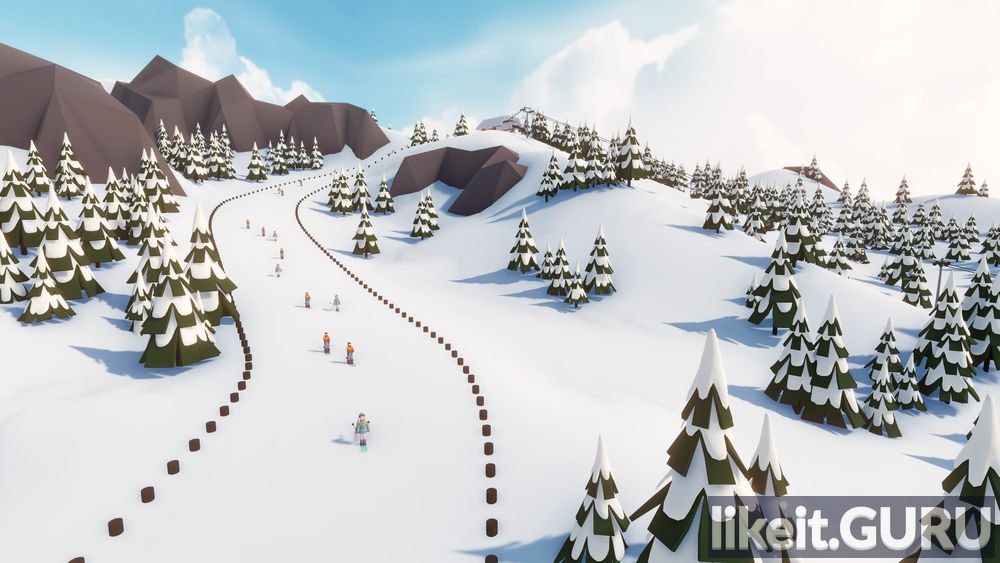 Snowtopia: Ski Resort Tycoon game screen