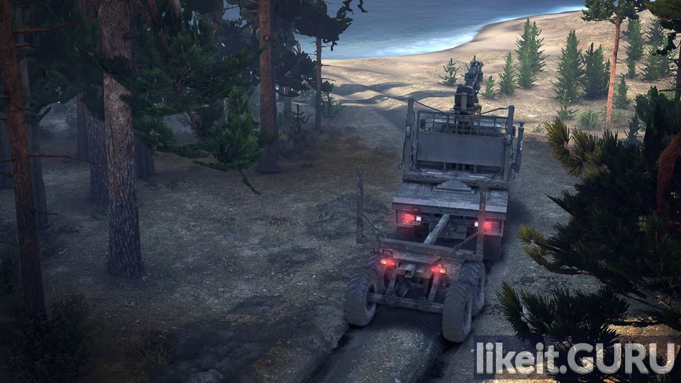 Spintires game screen