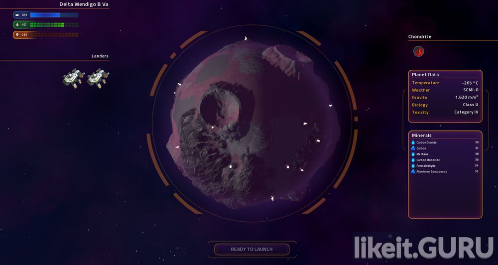 Star Control game screen
