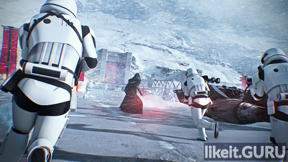 Star Wars: Battlefront II game screen