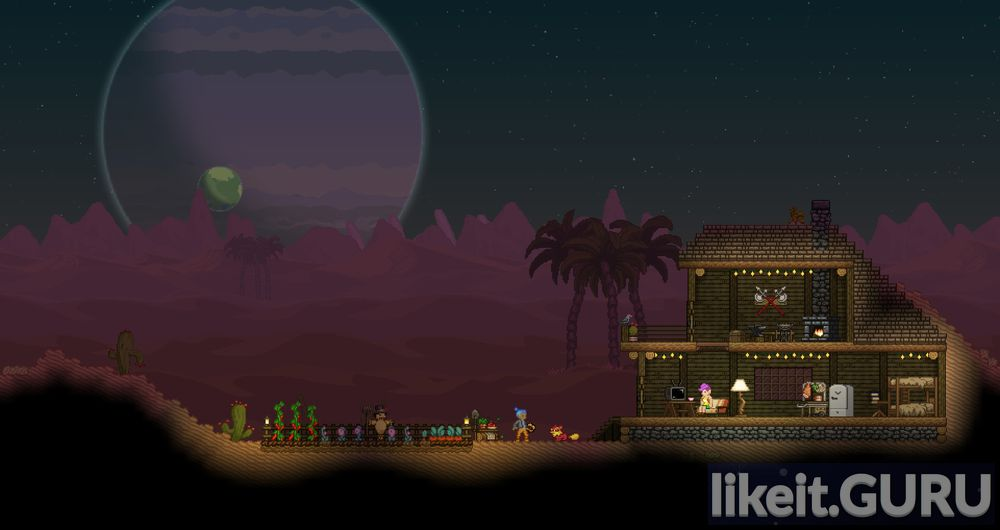 Starbound game screen