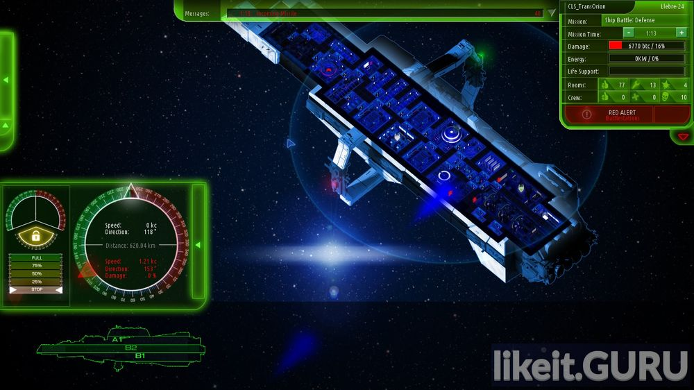 Starship Corporation game screen
