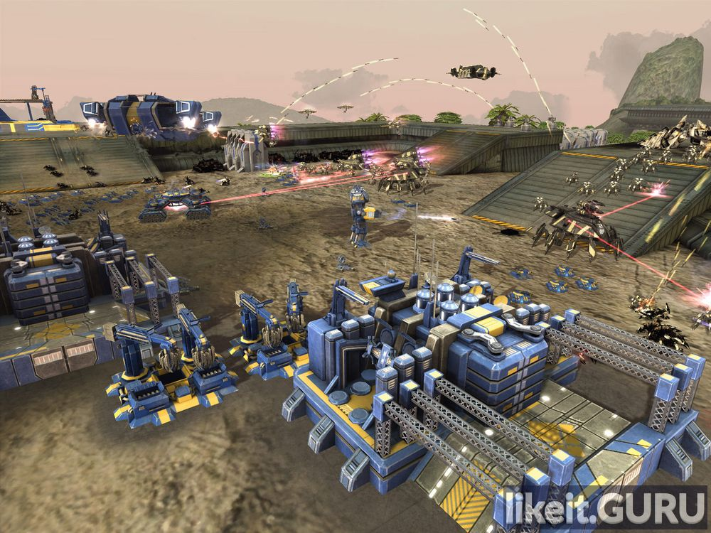 Supreme Commander 2 game screen