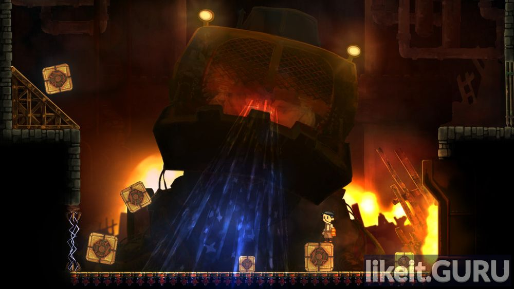 Teslagrad game screen