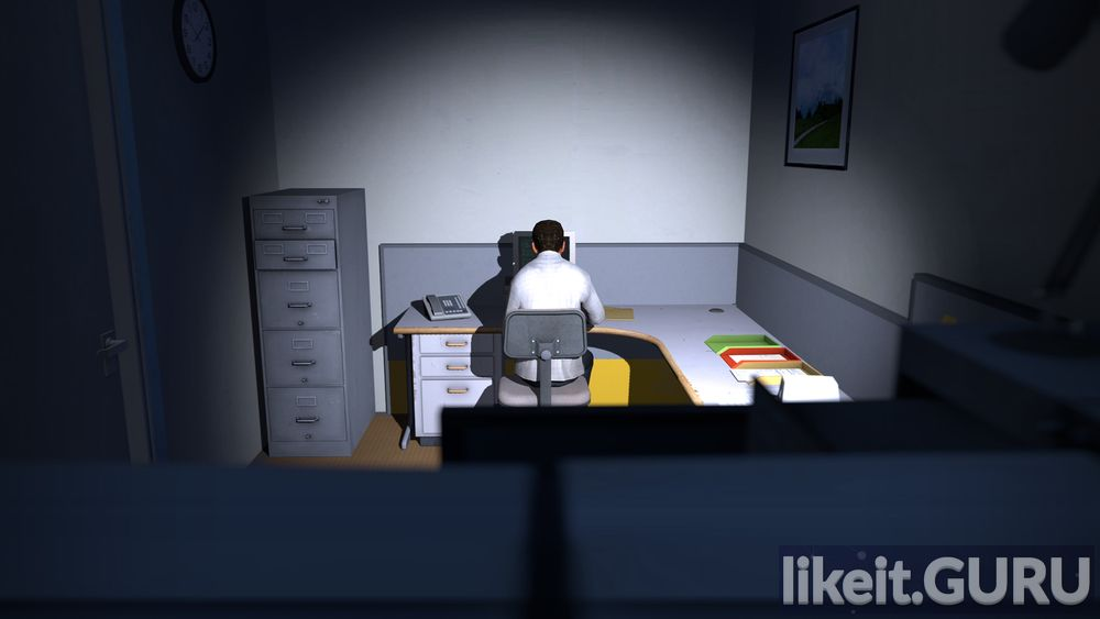 The Stanley Parable game screen