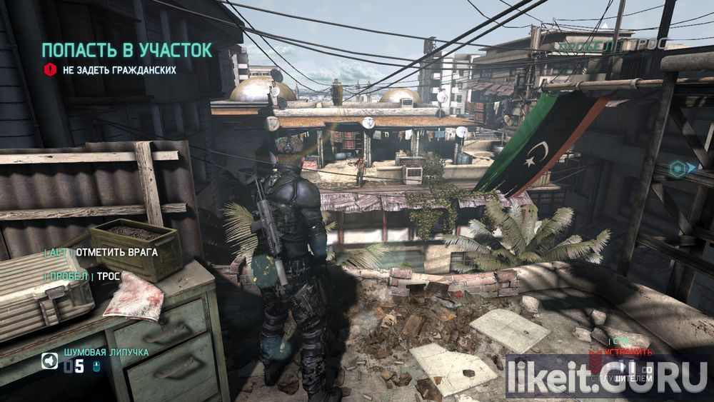 Tom Clancy's Splinter Cell: Blacklist game screen