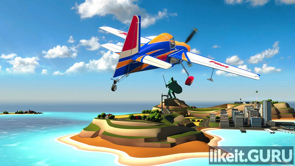 Ultrawings FLAT game screen