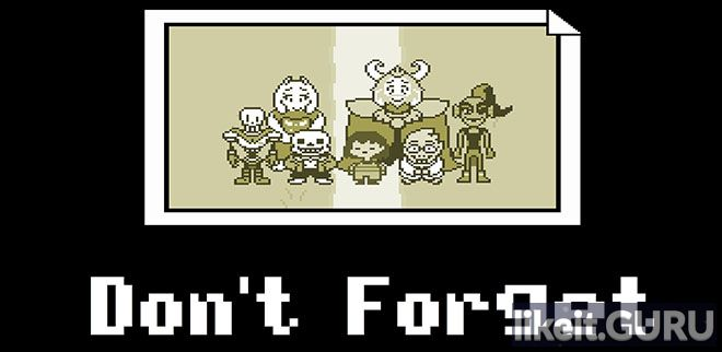 ✅ Download Undertale: Don't Forget Full Game Torrent | Latest version [2020] RPG