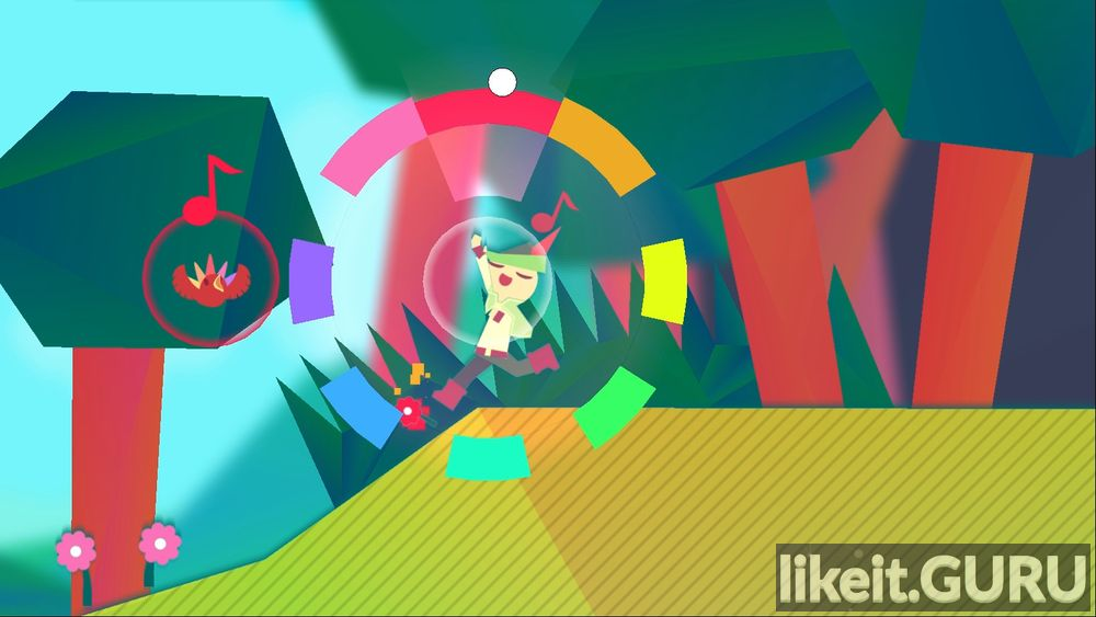 Wandersong game screen