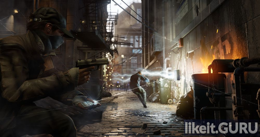 Watch Dogs game screen