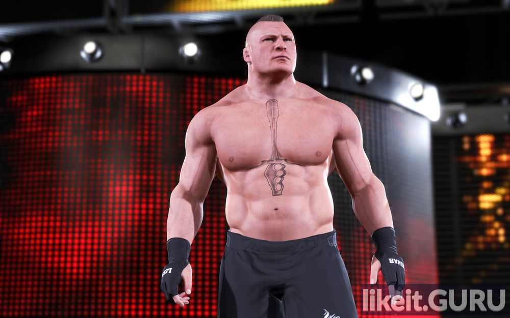 WWE 2K20 game screen
