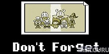 Download Undertale: Don't Forget Full Game Torrent | Latest version [2020] RPG